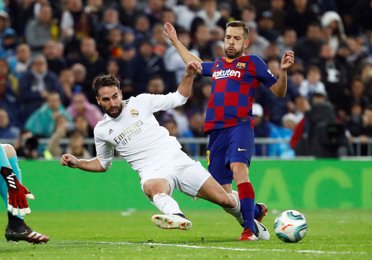 Barca's Jordi Alba: 'We are fitter than we were before football was suspended'