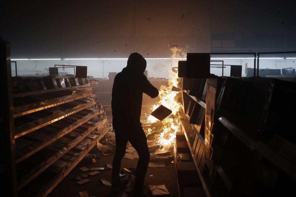Unashamed of adopting double standards on violent protests in US
