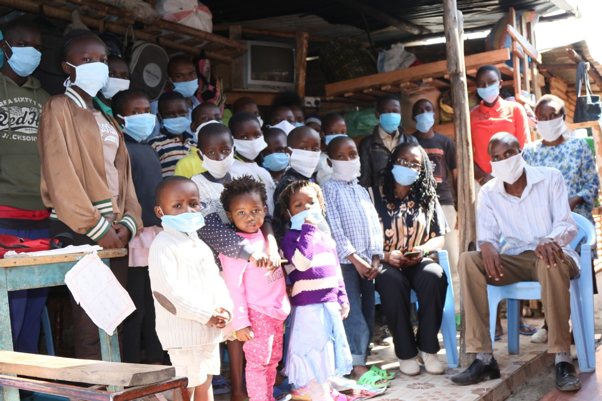 Orphans in Africa keep hope alive as they ride out virus