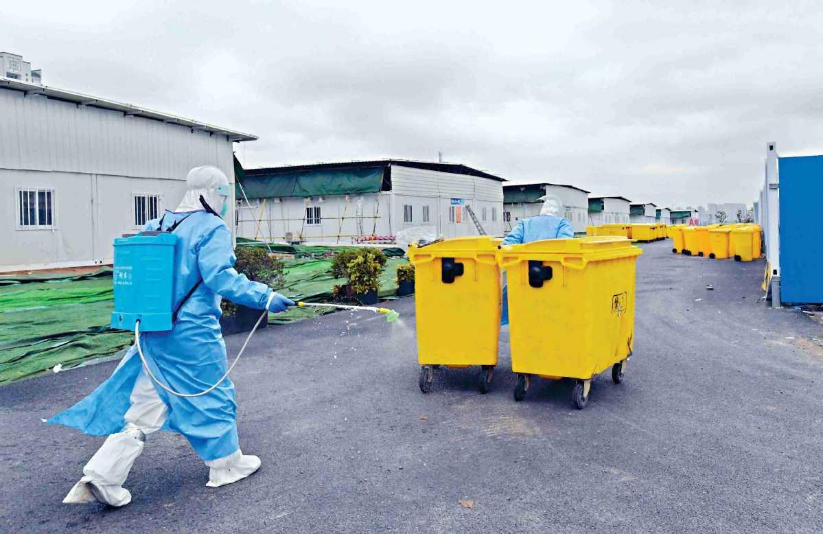 China reports improved capacity of medical waste, sewage disposal