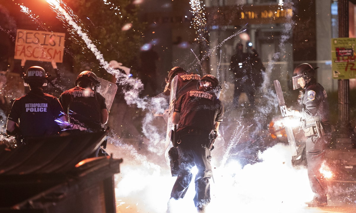 US protests expose a 'failed state' as officials resort to blame game