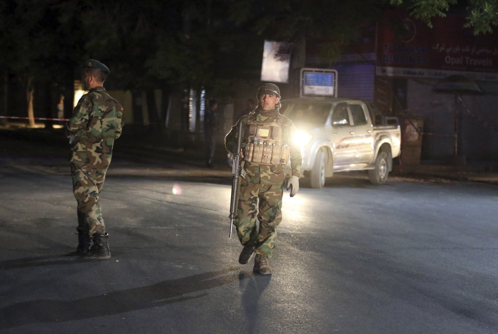 Afghan official: Kabul mosque bombed, 2 dead, 2 wounded