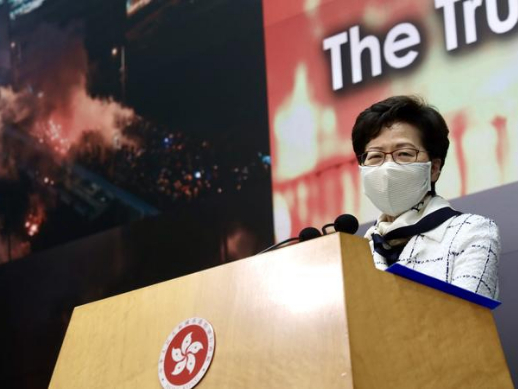 Lam: Central govt to heed opinions from more HK sectors on security law