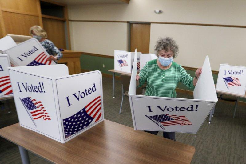9 US states, DC vote amid coronavirus pandemic, social unrest