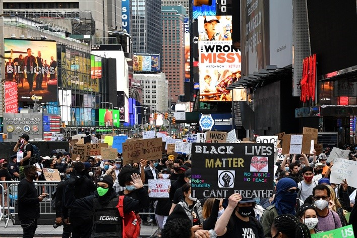 New York imposes curfew amid Floyd protests