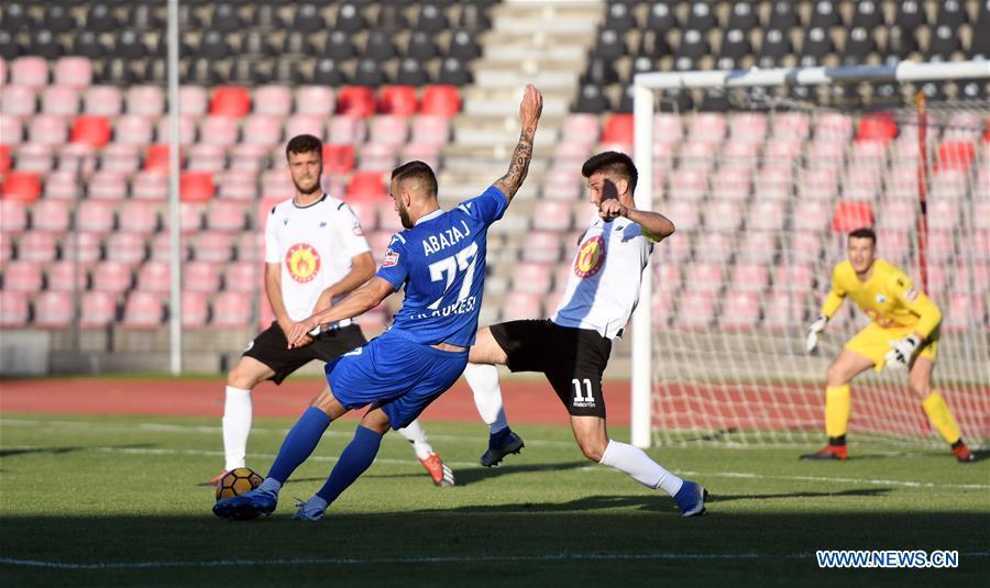 Albanian Superliga: Kukes vs. Luftetari