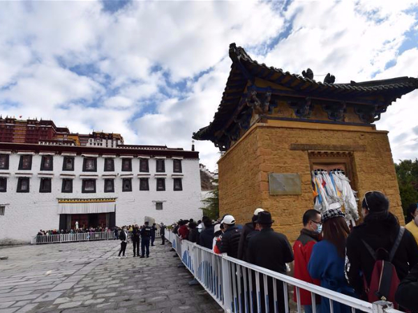 Potala Palace reopens to public