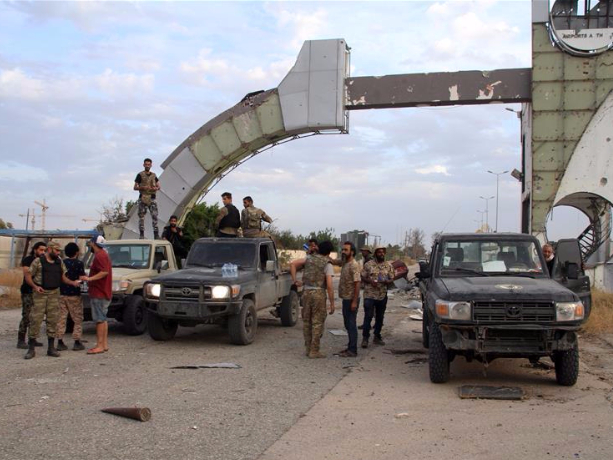 Libya's UN-backed government forces take over Tripoli International Airport