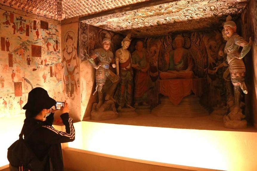 Digital Dunhuang brings cultural relics back to life