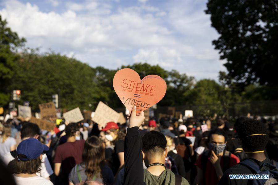 Demonstrators continue to protest over death of George Floyd in Minneapolis