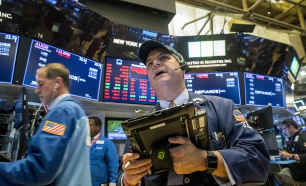 US stocks open lower, pulling back after streak of gains