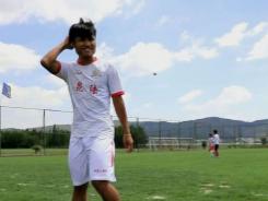 'River' football star dreams of career goal