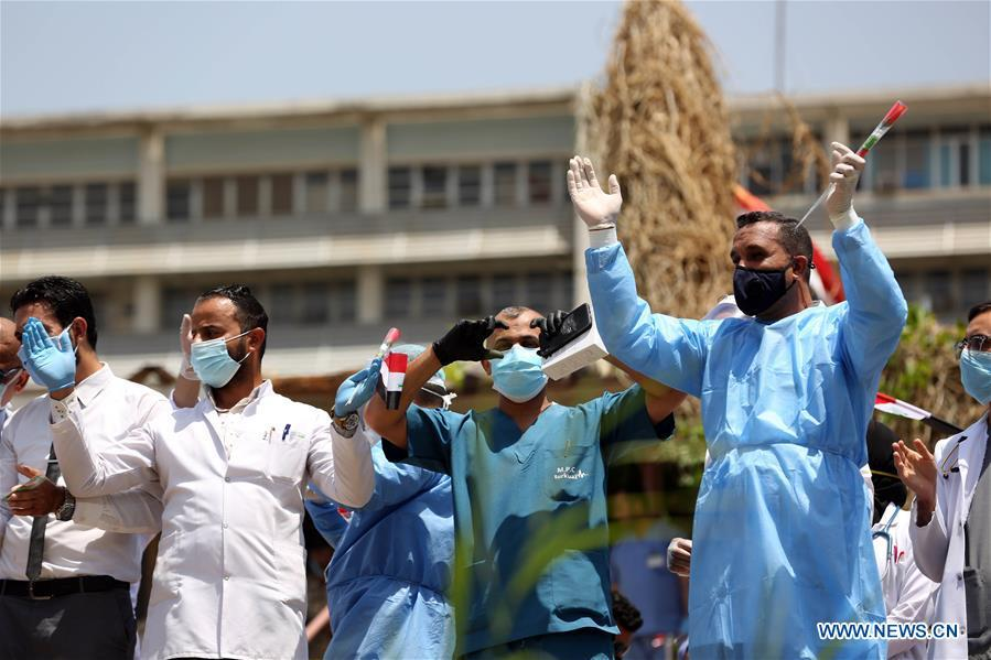 Iraq's COVID-19 cases exceed 8,000 as daily increase hits new record