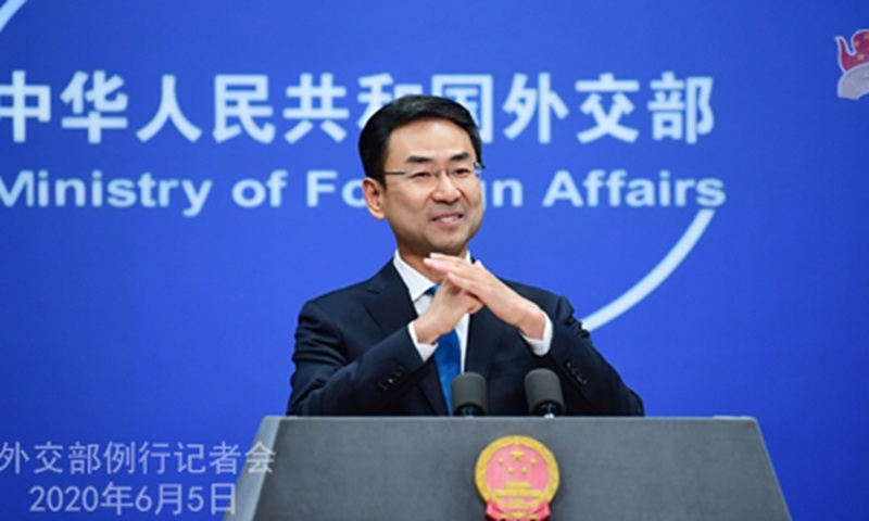 FM spokesperson leaves post, likely to work for Chinese UN mission
