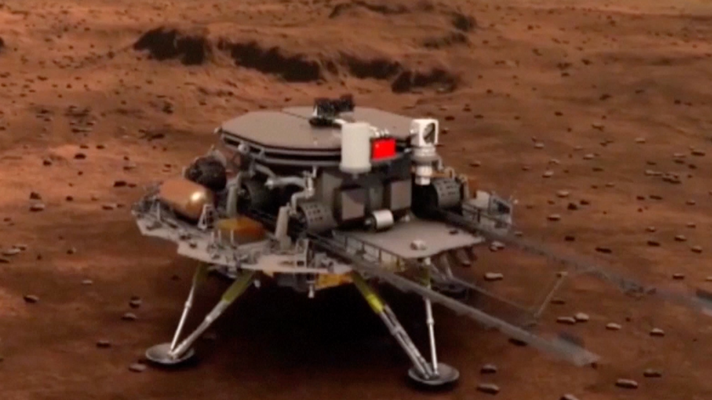 Expert explains China's first Mars mission between July and August