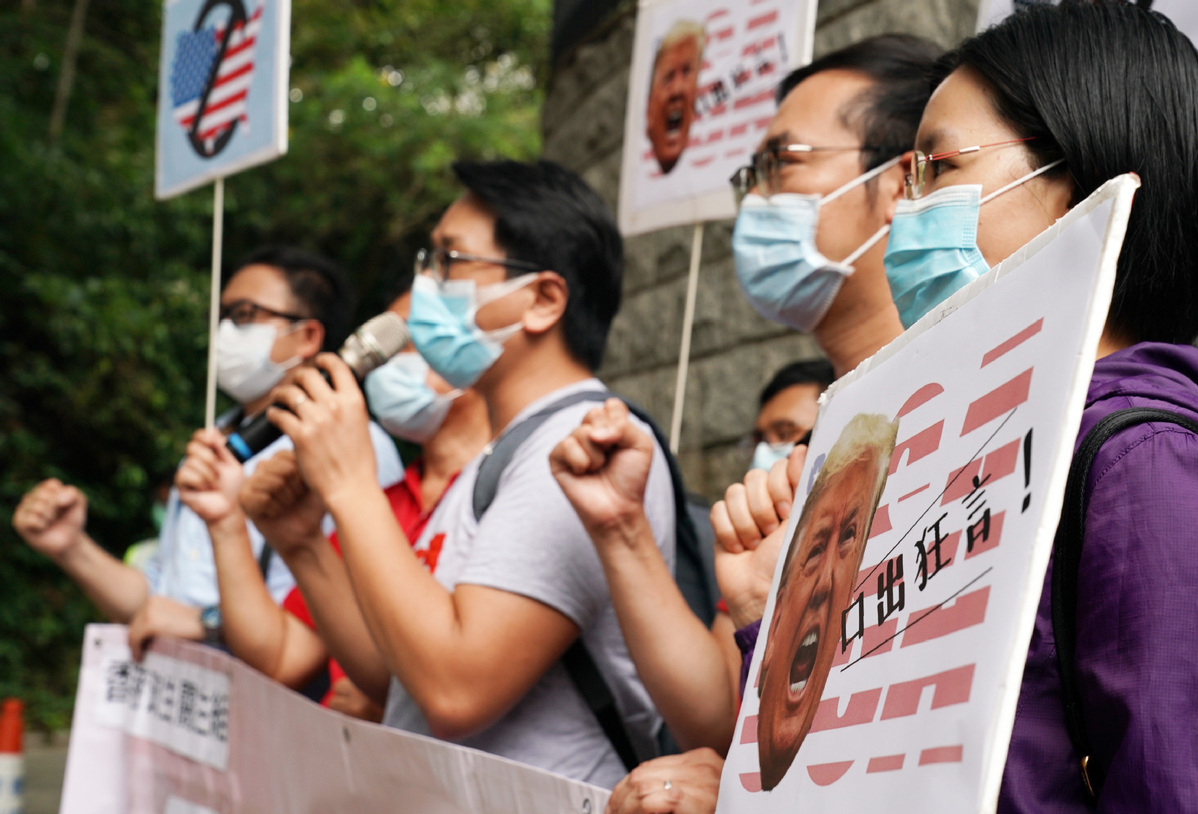 Double standard of West over protests in US and HK laid bare