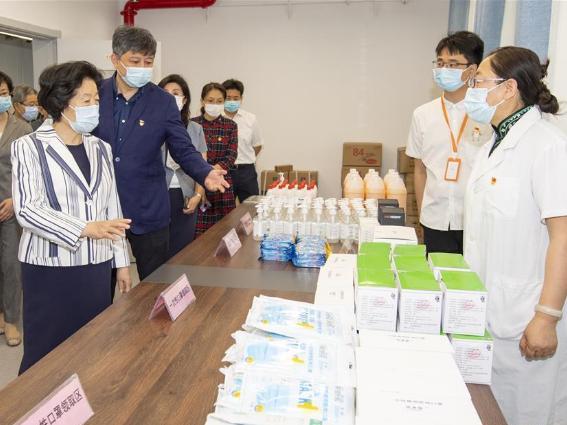 Vice premier inspects school resumption in Beijing