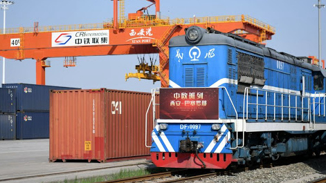 Number of China-Europe freight trains hits new high in May