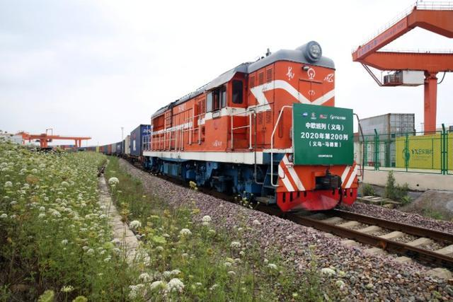 China-Europe freight train sends medical supplies to Spain
