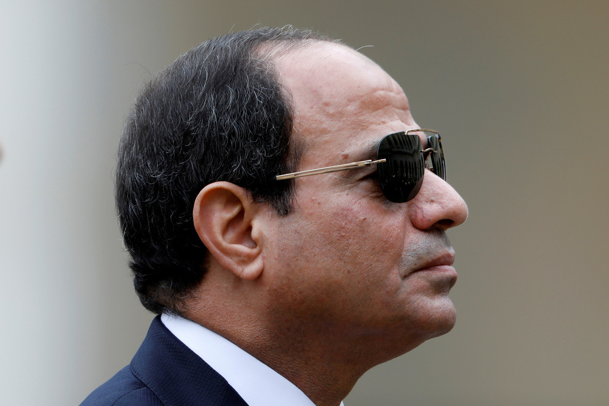 Egypt's president offers initiative to end conflict in war-torn Libya as fighting heats up