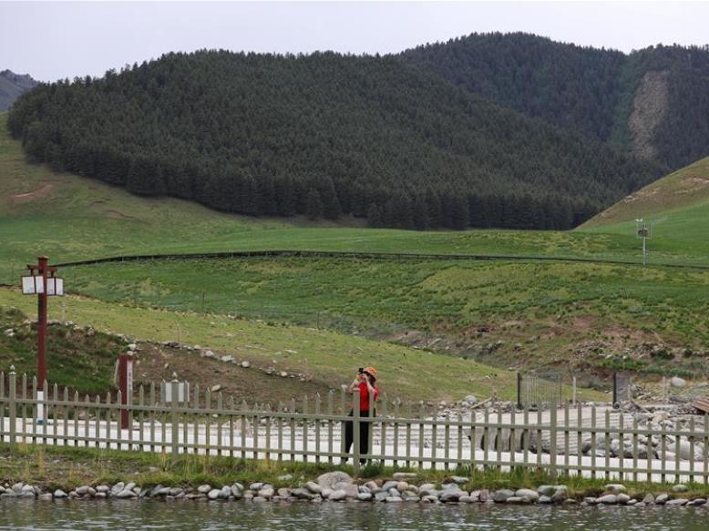 Binggouhe scenic spot in Wuwei, Gansu