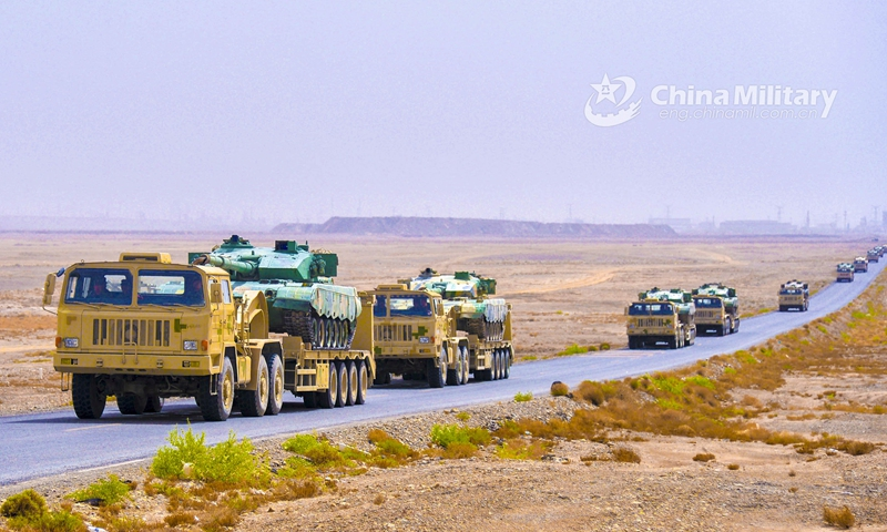 PLA conducts maneuvers in high-altitude NW China amid border tensions with India