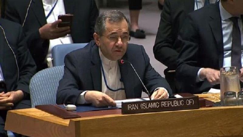 US has no right to extend UN arms embargo on Iran: Iranian envoy