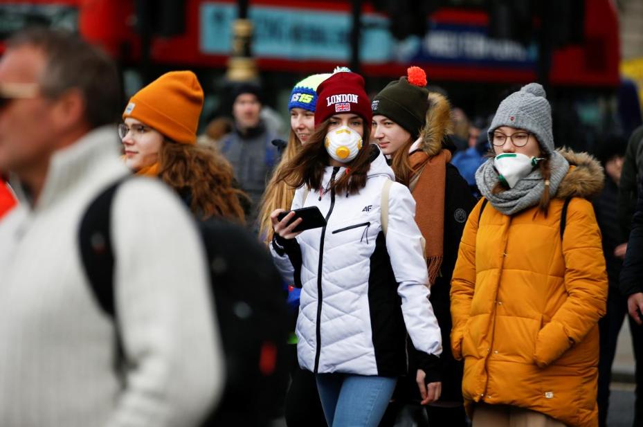 UK 'winning battle' against the virus, says govt
