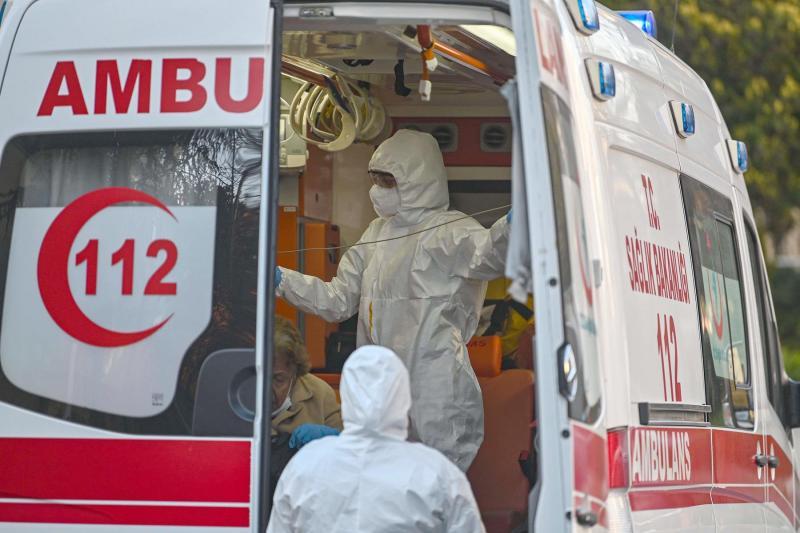 Turkey reports 989 new coronavirus cases, 171,121 in total