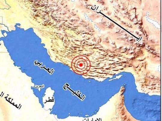 5.7-magnitude quake hits 57 km ENE of Mohr, Iran:USGS