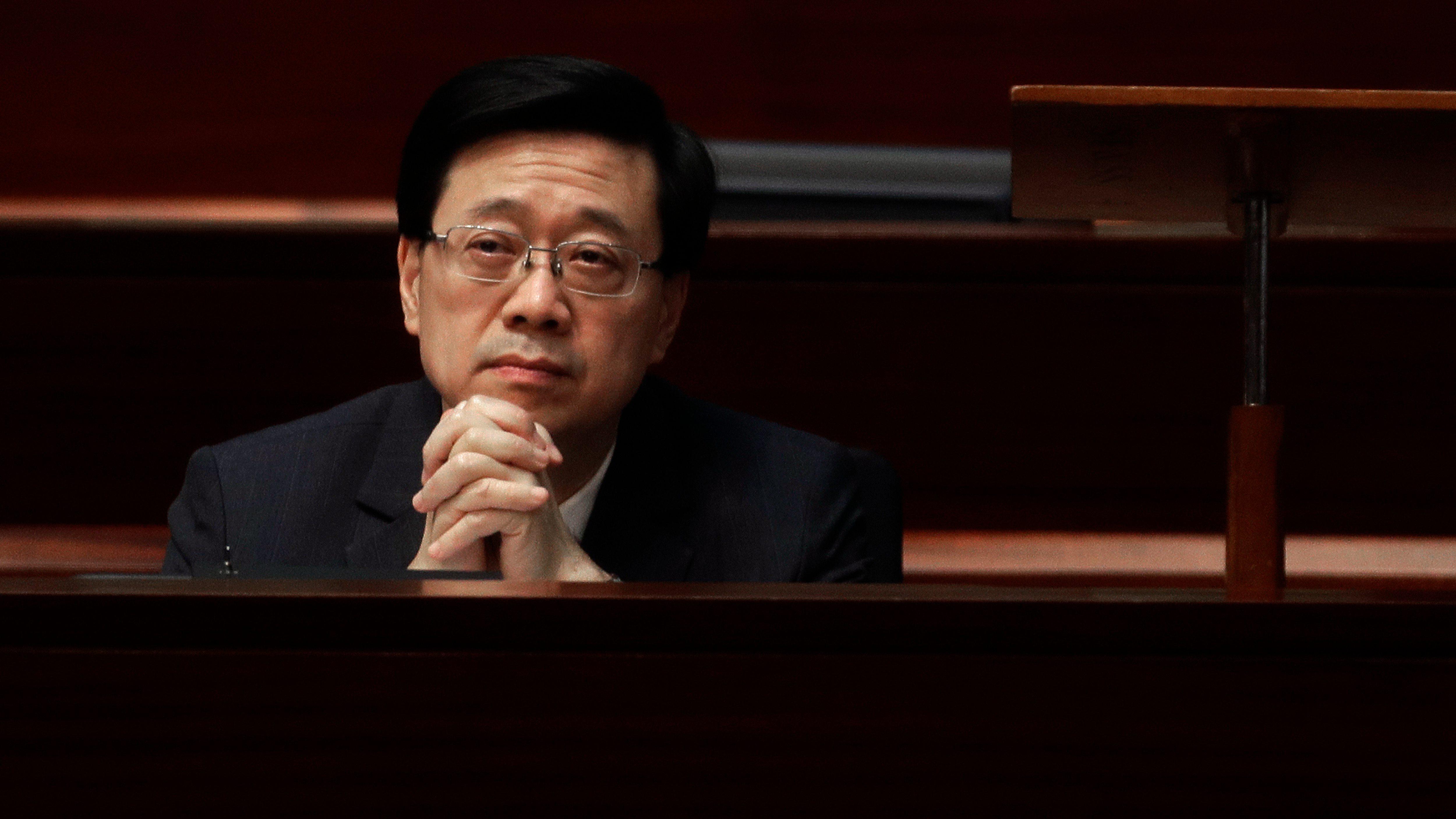 HK police to set up new unit for national security legislation