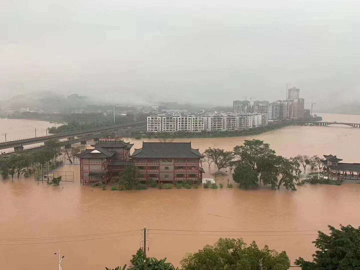 More than 2.6m people affected by floods in South China