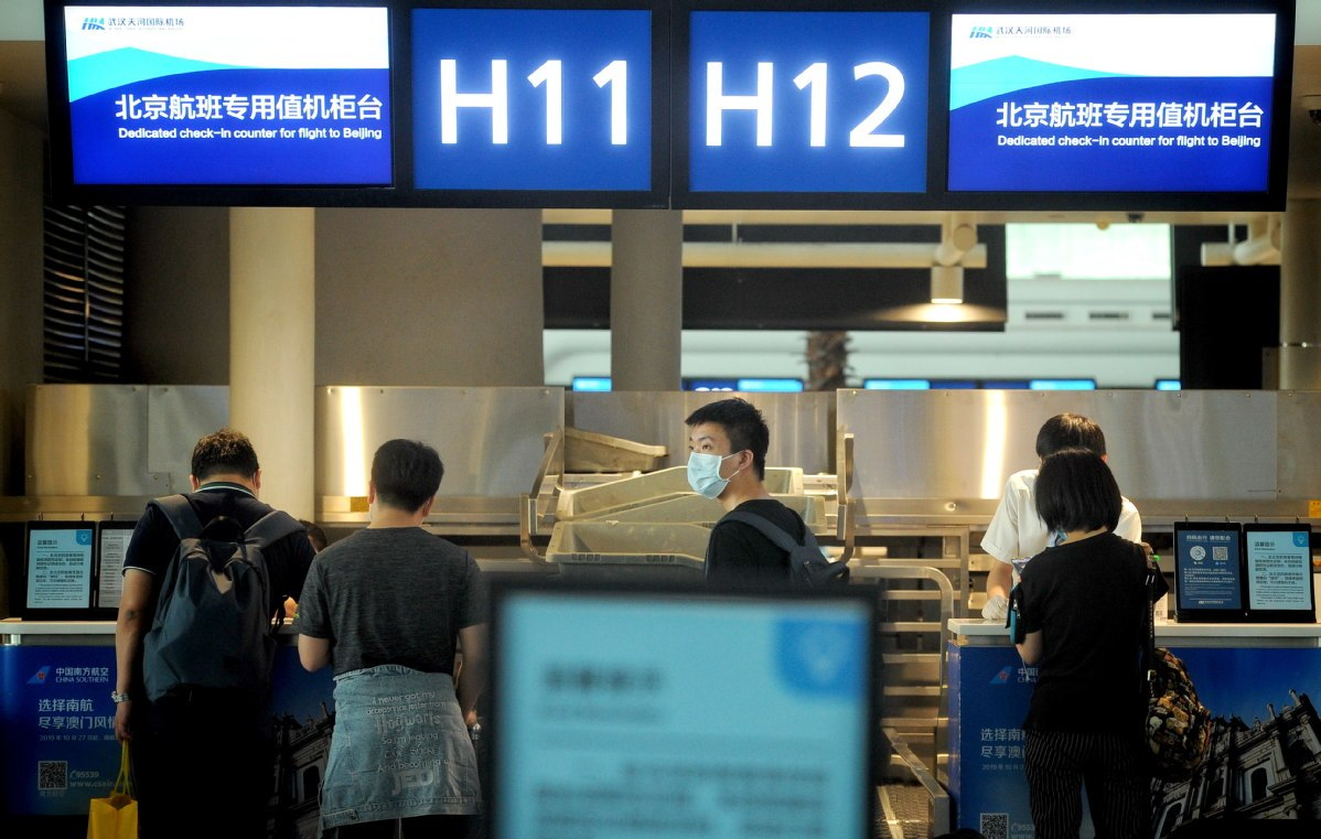 China's airline industry shows signs of recovery