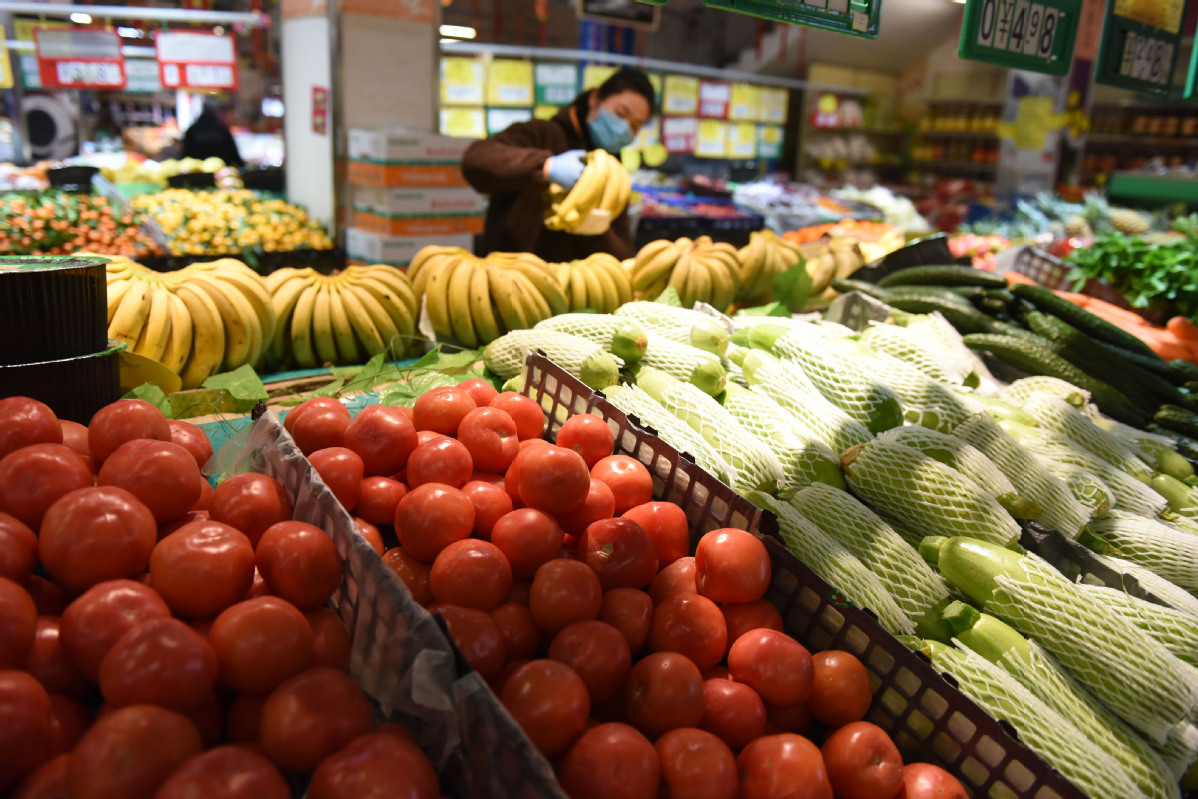 China's consumer inflation lowest in 14 months