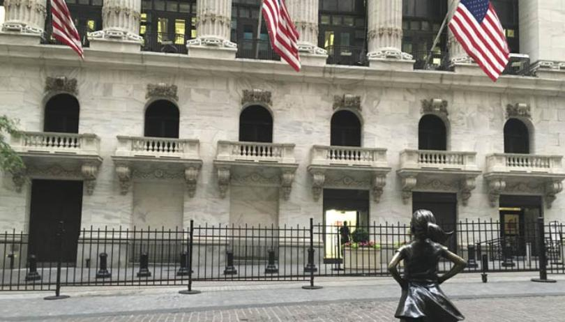 US stocks open higher, bouning back from rout