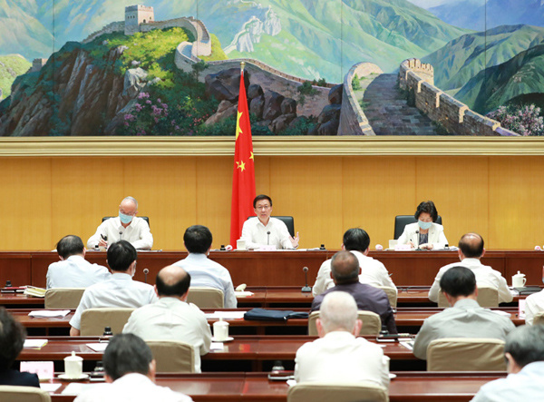 Vice-premier urges Beijing 2022 organizers to overcome challenges from COVID-19