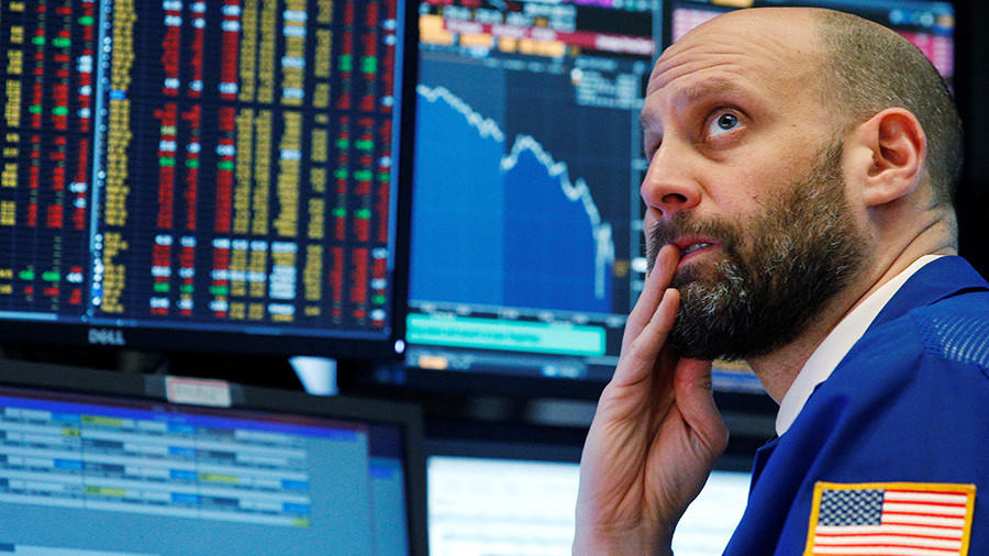Dow plunges over 1,800 points as Wall Street suffers worst day since March