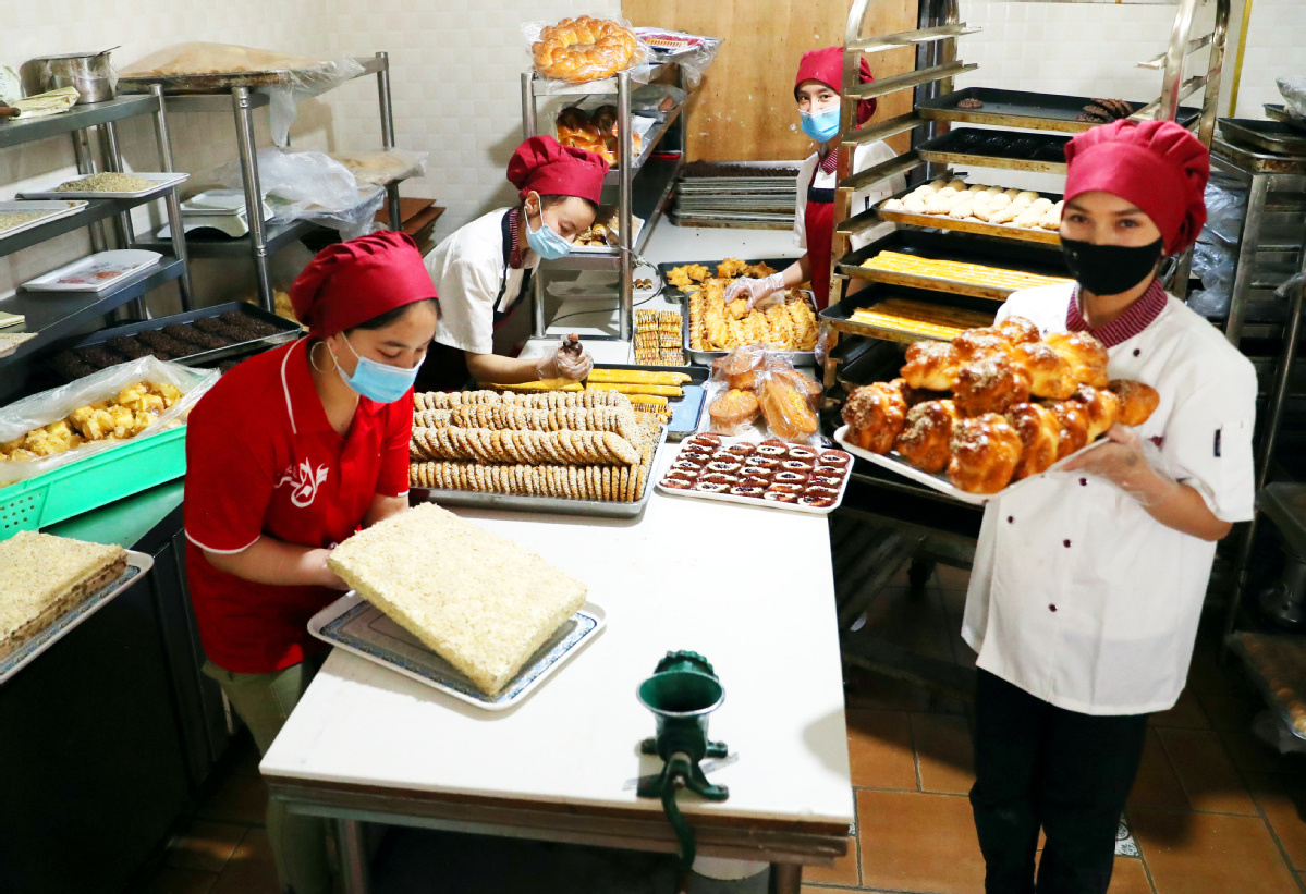 Home bakers rise to fresh challenges