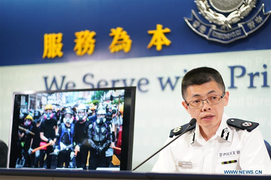 HK police ready to form security team