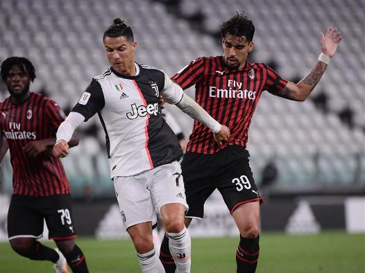 Juventus advance past AC Milan to Coppa Italia final