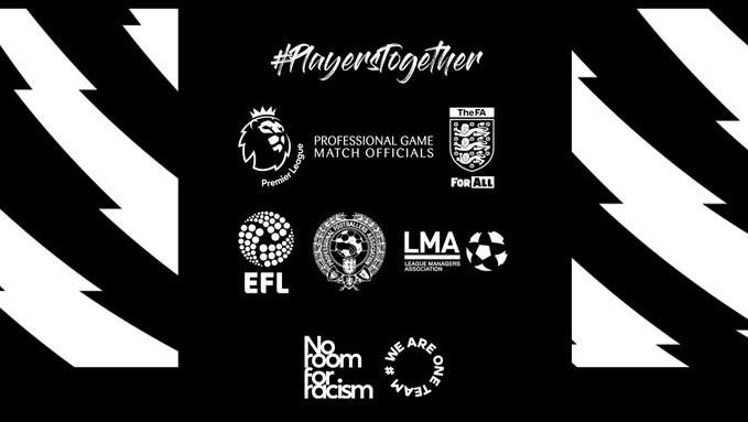Premier League lends voice to 'Black Lives Matter' movement