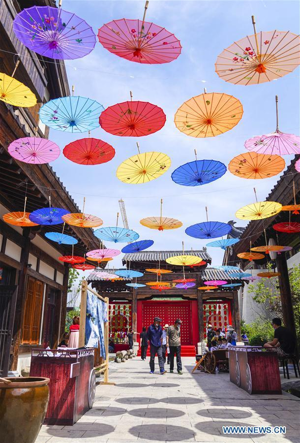 1st Lianhuashan summer life festive activity kicks off in Changchun City, China's Jilin