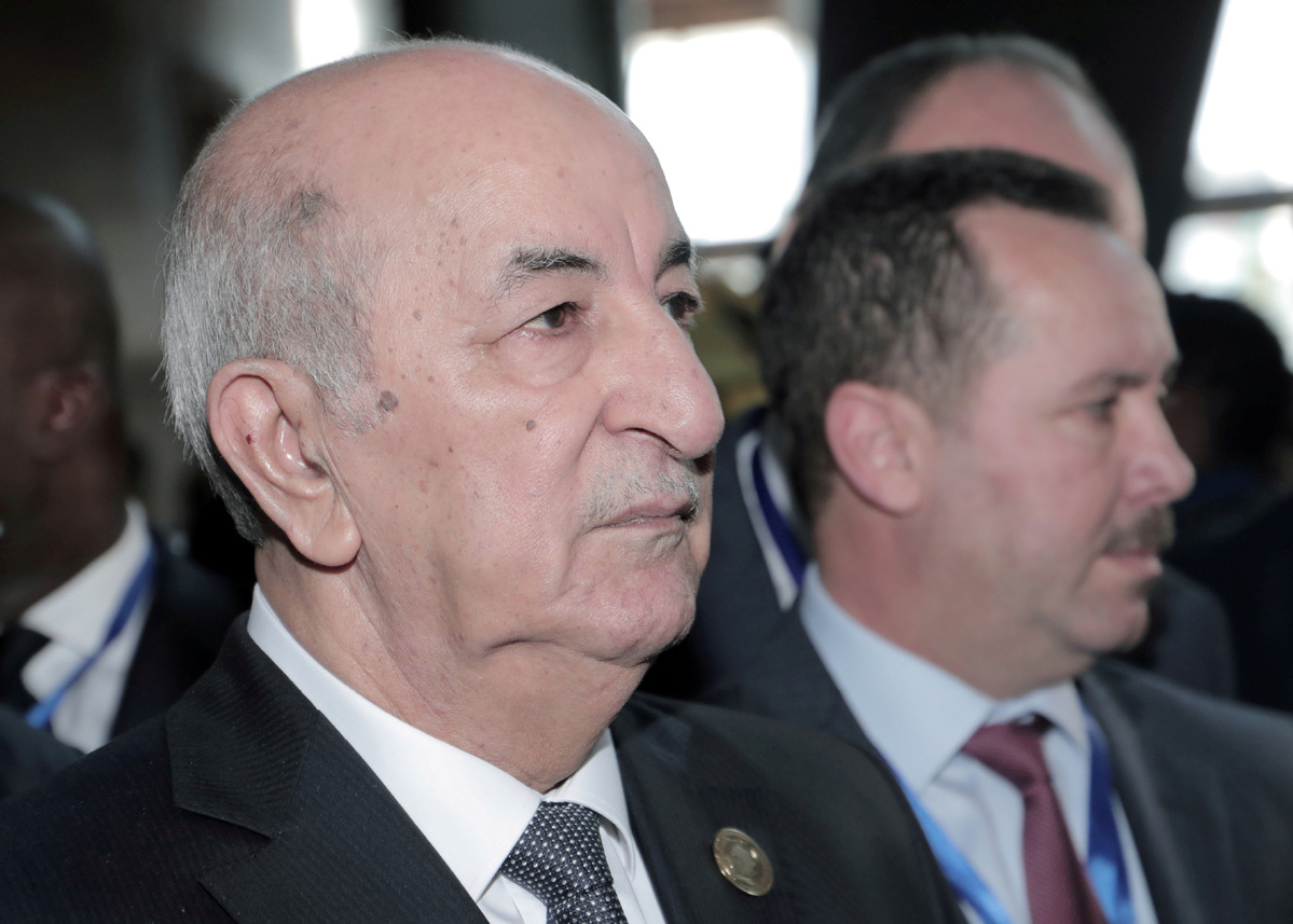 Algerian president says to pay close attention to COVID-19 after lifting lockdown