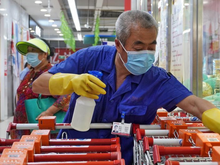 Fengtai District of Beijing carries out comprehensive cleaning, disinfection work