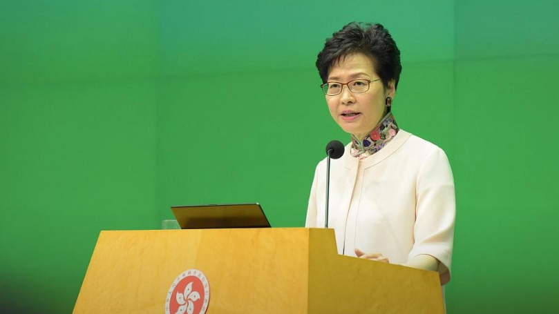 National security legislation to restore stability in Hong Kong: Carrie Lam
