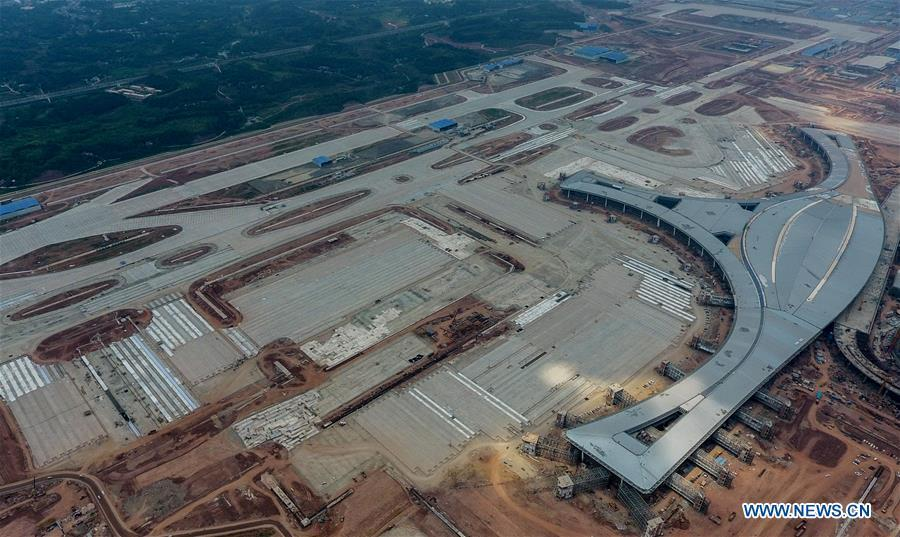 Construction of Chengdu Tianfu Int'l Airport carried out smoothly