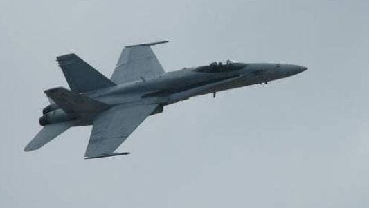 US Air Force F-15 fighter jet crashes in North Sea