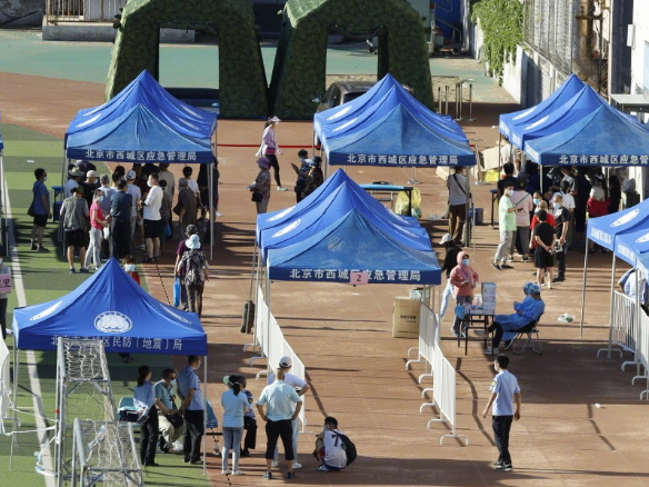 Beijing runs coronavirus tests on 76,499 residents, of which 59 test positive