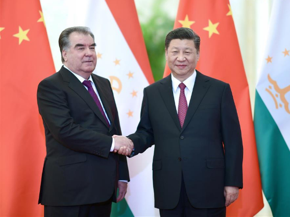 Xi calls for joint efforts with Tajikistan to implement key Belt and Road projects