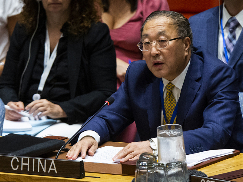Chinese envoy asks US to lift unilateral sanctions on Syria